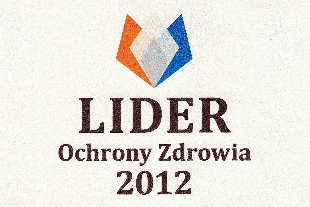 SPSKM Lider Ochrony Zdrowia 2012_2
