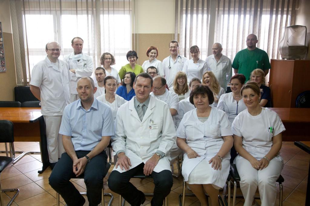 Lekarze Oddział Hematologii i Transplantacji Szpiku