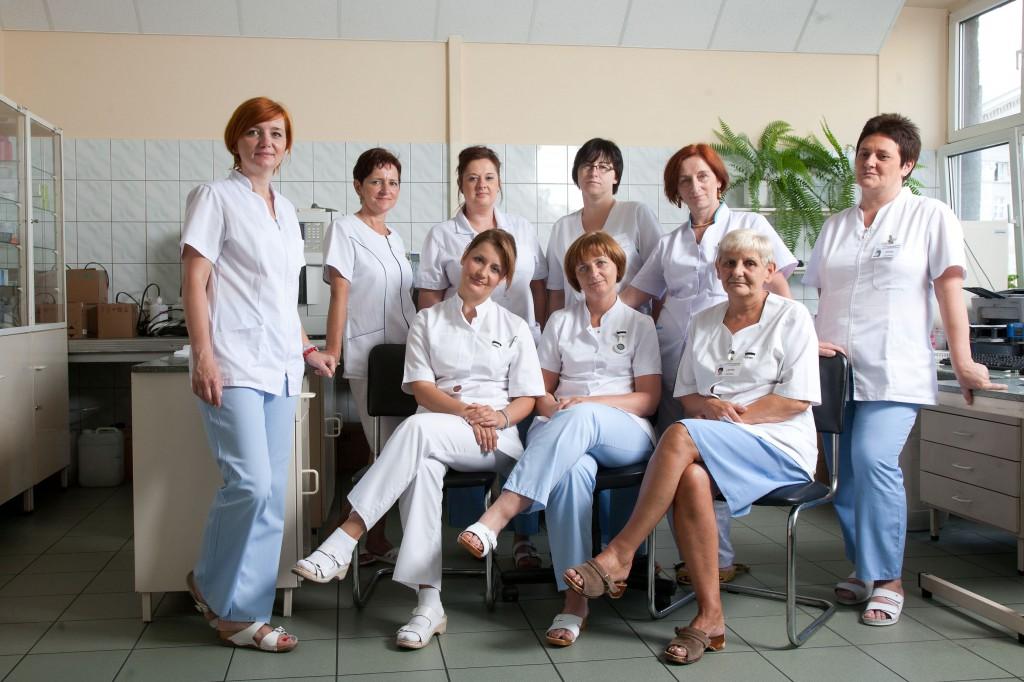 Pielegniarki Oddział Hematologii i Transplantacji Szpiku