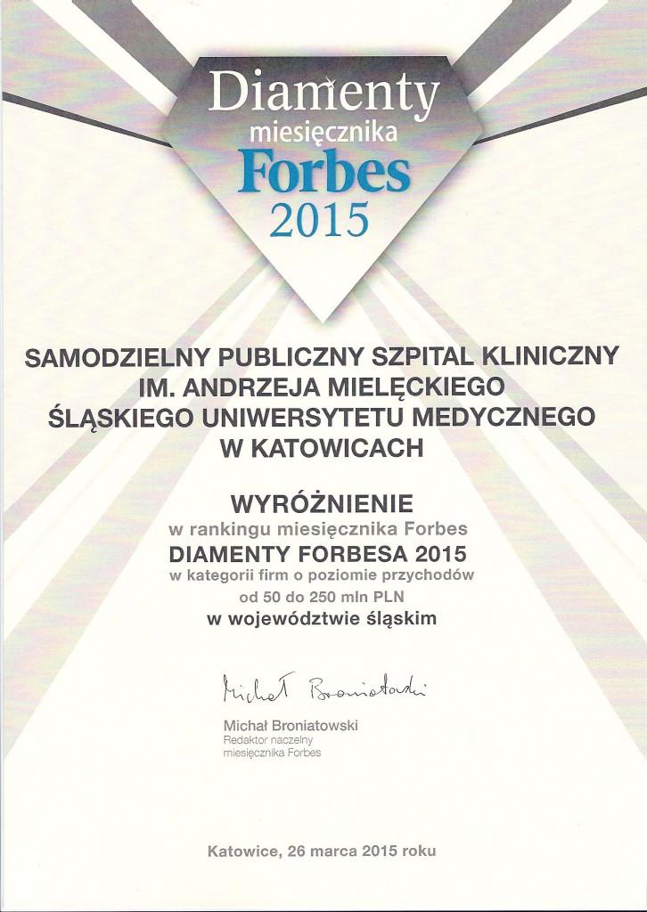 Diamenty Forbes 2015